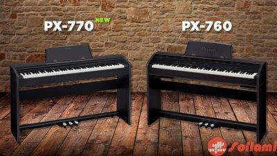 Сравнение CASIO PX-770 и PX-760: что-то изменилось?