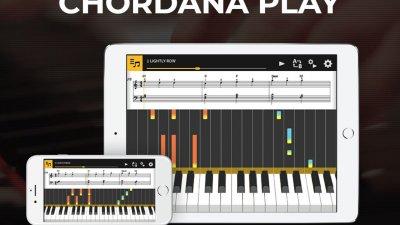 Приложение Chordana Play для обучения