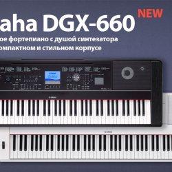 Обзор новинки Yamaha DGX-660 и сравнение с DGX-650